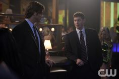 """""""Sex and Violence"""" - Jared Padalecki as Sam, Jensen Ackles as Dean in SUPERNATURAL on The CW. Photo: Michael Courtney/The CW©2008 The CW Network, LLC. All Rights Reserved."""