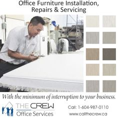 We provide clients with FAST, COST EFFICIENT New and Used Office Furniture and Re-manufacturing Solutions to create a professional office space at a fraction of the price! For more information call: Office Moving, Smart Office, Used Office Furniture, Space, Create, Home, Design, Display, Ad Home