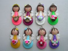 little clay corner: CUTE ORNAMENTS