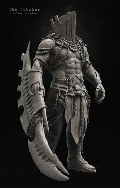 The Butcher, hitu hitansu on ArtStation at https://www.artstation.com/artwork/the-butcher-7de24540-bc18-4145-8f8b-3ee15e99e99d