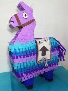 Llama Pinata, birthday party llama, fortnite party supplies
