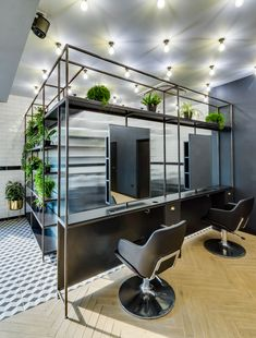 Salon Design for Hare & Bone in Esher