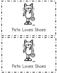 pete the cat shoes book.pdf - I love Pete the cat! Don't know if I'll ever be in a classroom young enough to teach him but just in case!