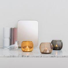 Portacandele Kaasa di Iittala Kaasa tealight candleholders by Iittala Interior Styling, Interior Design, Lantern Designs, Nordic Design, Tea Light Holder, Glass Design, Scandinavian Style, Interior Inspiration, Tea Lights
