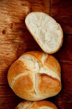 bread recipes Alm-Rezepte: Handsemmel - P - Bread Bun, Pan Bread, Bread Rolls, Bread Baking, Burger Recipes, Pizza Recipes, Grilling Recipes, German Baking, Bread Maker Recipes