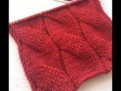 "УЗОРЫ СПИЦАМИ: Узор ""Имитация косы или плоская коса"" (Вязание спицами) – Журнал Вдохновение Рукодельницы Cable Knitting Patterns, Knitting Videos, Knitting Stitches, Baby Knitting, Crochet Mittens, Free Crochet, Knitted Hats, Slip Stitch, Diy And Crafts"