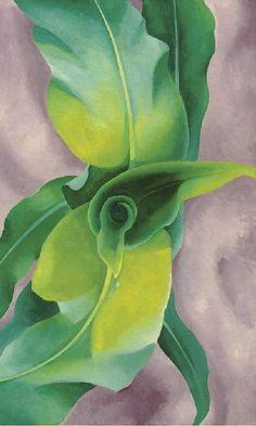 georgia o'keeffe, 'corn no. iii' (1924)