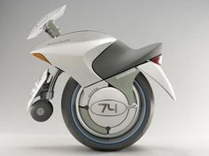one-wheeled concept motorcycle. - a unicycle is a vehicle that touches the ground with only one wheel. Futuristic Motorcycle, Futuristic Cars, Futuristic Technology, Motorcycle Design, Bike Design, Trike Motorcycle, Monocycle, E Mobility, Future Transportation