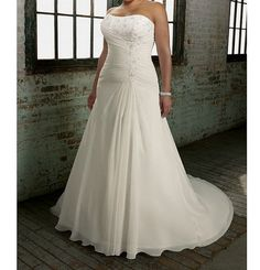 Hey, I found this really awesome Etsy listing at https://www.etsy.com/listing/184243629/custom-made-plus-size-wedding-dresses