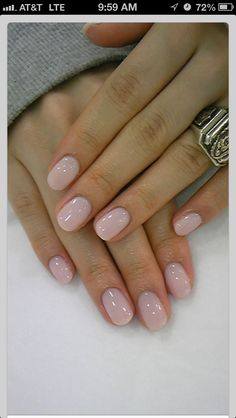 Love the color and shape...Wish i could have healthy nails like that