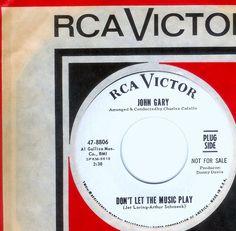 John Gary - DON'T LET THE MUSIC PLAY  (1966)