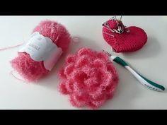 SpülschwämmeGehäkelte Spülschwämme Badeschwamm Rosi Schrubb Door alle leuke berichtjes die ik las over het nieuwe Rico Creative Bubble garen werd ik heel nieuwsgierig. Omdat ik niet goed wist wat ik e. Duschschwämme NO: 8 ROSENBLÜTEN How Do You Knit, Learn How To Knit, Diy Crochet, Crochet Hooks, Crochet Baby, Youtube Crochet, Baby Knitting Patterns, Crochet Patterns, Creative Bubble