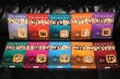 full series boxed sets of FRIENDS! Everything pictured was adult owned, very well taken care of, and is in excellent condition. Included are the full seasons 1-10 with all discs and slip cases included  #Friends #Dvds FRIENDS DVD Set Seasons 1 2 3 4 5 6 7 8 9 10 Full Series 1-10 ALL Boxed Sets EUC