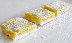 Luscious Lemon Squares.