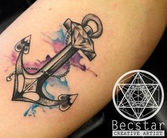 These tattoos are usually found on older and young females. Tattoos on this particular part of the rear are very popular that Girl Anchor Tattoos, Feminine Anchor Tattoo, Feminine Skull Tattoos, Navy Tattoos, S Tattoo, Tattoo Girls, Lace Tattoo, Body Art Tattoos, Tattoo Black