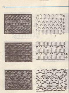 crochet stitch pattern chart #crochetstitches