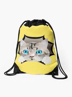 """""""Katze Mieze Kätzchen"""" Turnbeutel von Luigishirts 
