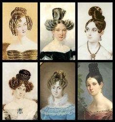 Late Georgian hair comb tortoiseshell Spanish style hair accessory (ABA)
