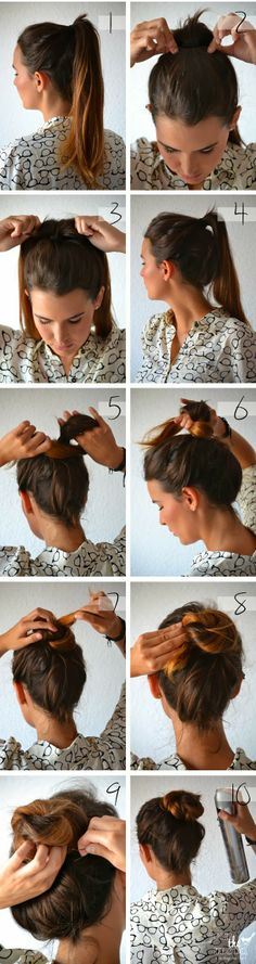 How-to: Knotted bun