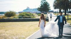 Don't forget to have someone accompany you on your big day to make sure your gorgeous train doesn't hit the ground! The last thing you would want is to dirty it before your walk down the aisle.  #wedding #weddingtrain #weddingdress #rosepetalevents #californiaplanner  Photo Source: https://pixabay.com/en/wedding-couple-groom-bride-love-725431/