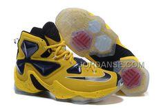 http://www.jordanse.com/2016-nike-mens-basketball-sneakers-lebron-13-yellow-black-online.html 2016 NIKE MENS BASKETBALL SNEAKERS LEBRON 13 YELLOW BLACK ONLINE Only $120.00 , Free Shipping!