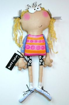 UgLee GirL named Skyy di buttuglee su Etsy