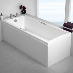 Carron Rectangular Baths with sizes ranging from 1250 - 1900mm in length.