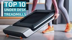 Top 10: Best Under Desk Treadmills for 2020 / Foldable Walking Pad Tread... Foldable Treadmill, Treadmill Desk, Folding Treadmill, Running On Treadmill, Desk Workout, Electric Treadmill, Running Machines, Gym Room