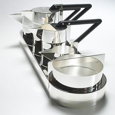 Gae Aulenti  Tea and Coffee Service 1980.