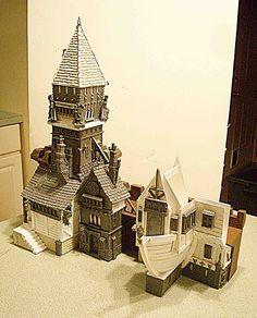 Warhammer city | Watchtower and Blowhole inn. | UncleOswald1 | Flickr