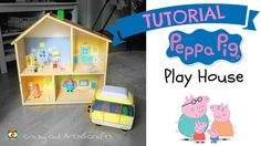 Tutorial PEPPA PIG Playhouse out of an IKEA dollhouse - YouTube
