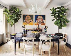 Pair Of Fiddle Leaf Fig - Indoor Trees -