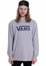 Vans - Vans Classic Athletic Heather/Poseidon - Longsleeve