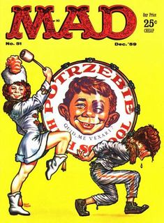 mad magazine in Books, Comics and Magazines Alfred E Neuman, Mad Magazine, Magazine Covers, American Humor, Ec Comics, Mad World, You Mad, Silver Age, Vintage Comics