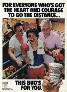 """Budweiser """"Heart & Courage To Go the Distance"""" (1982)"""