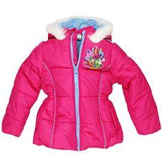 Shopkins Little Girls Puffer Coat Jacket Sweet Pink) Best Winter Coats USA Winter Outfits For Girls, Girl Outfits, Shopkins Girls, Cute Winter Coats, Girls Puffer Jacket, Outerwear Jackets, Puffer Jackets, Puffer Coats, Cute Baby Clothes