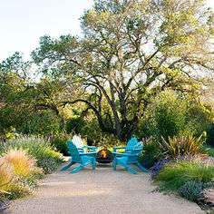 Magical outdoor room