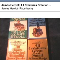 James Herriot's books about being a vet in Yorkshire.