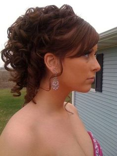 Prom Updos For Long Hair | Homecoming Hairstyle Photos - Super Curly Updo