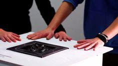 .fluid by Hannes Jung is a concept study of an interacting, changing surface that uses non-newtonian fluid