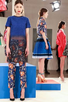 Otswald Helgason's show was to die for.