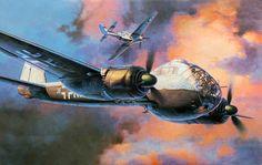 Junkers Ju 188E-1 Avenger by Koike Shigeo