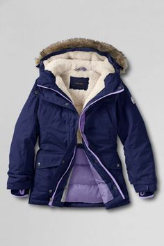 Girls' Expedition Parka from Lands' End