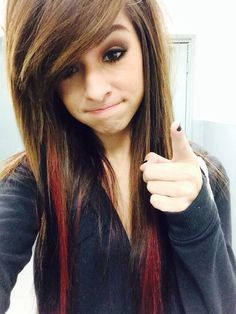 Love the black and red streaks