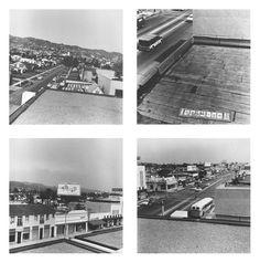 Ed Ruscha - Rooftops, Photograph