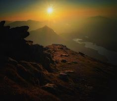 Snowdonia, North Wales, Happy New Year, Mountains, Sunset, Landscape, Travel, Outdoor, Instagram