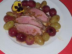 Lulu - Povesti din Bucatarie: Piept de rata cu struguri Steak, Food, Essen, Steaks, Meals, Yemek, Eten