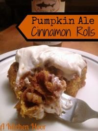Pumpkin Ale Brioche Cinnamon Rolls are so delicious and perfect for breakfast!