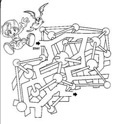 Free Printable Mazes for Kids from All Kids Network - - Pinned by #PediaStaff.  Visit http://ht.ly/63sNt for all our pediatric therapy pins