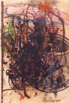 Allen Vandever; Chicago; cotemporary; new; yoga; nude; epoxy; artist; abstrac; new; collage; Chicago Artist Et10